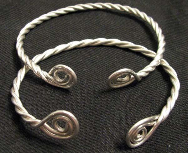 Recreated Conquest Era Magyar Bracelets