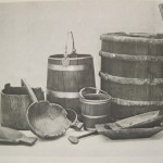 Wooden artifacts from the Oseberg finds.  Photo © Cambridge University Press 1979