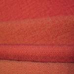 Red warp /light brown weft
