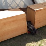 These kitchen boxes are based on the mastermyr find.  They are very scaled up, of course.
