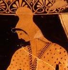 Scythian Archer from a greek vase.