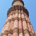 The Minar at Qutb Complex.